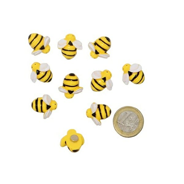 magneet bijen tien stuks neodymium