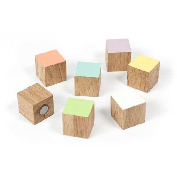 Magneet Timber houten magneetjes