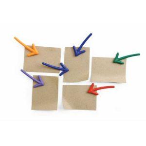 Pijl magneet Arrow magneetjes aanwijzer