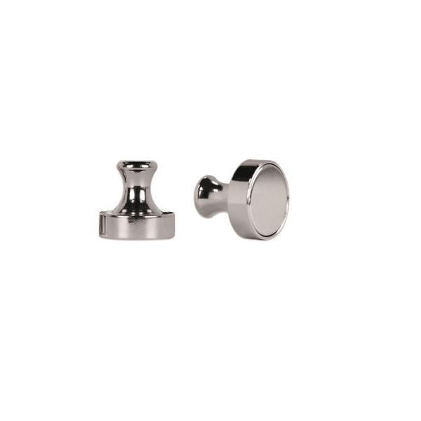 Super sterke Push Pin zilver 18 kg
