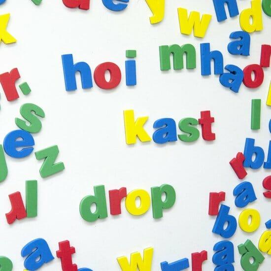 Magneet Letters Magpaint Magnetische Alfabeth