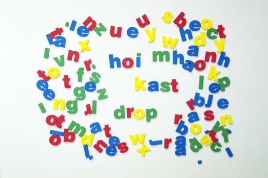 Magneet Letters Kleuren Voor Kinderen