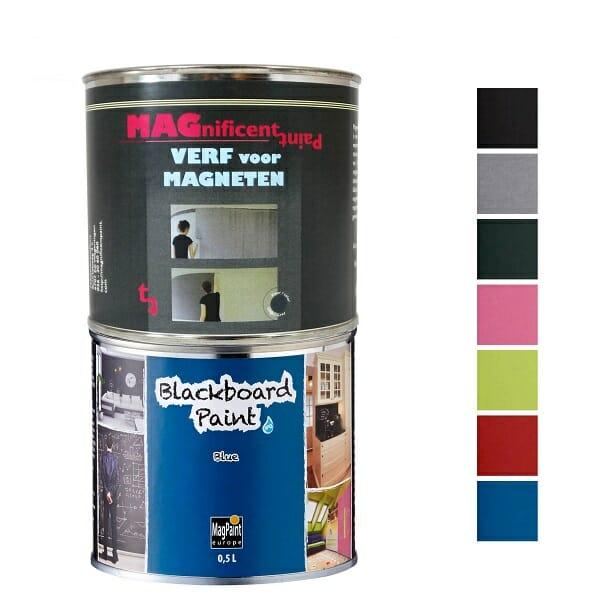 Magnetisch Schoolbordverf Pakket Blauw