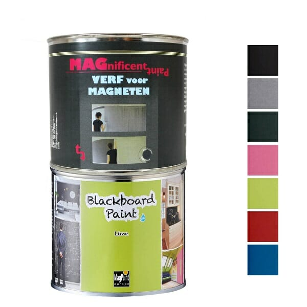 Magpaint Blackboard Paint Lime 500ml Plus Mp 600 Px