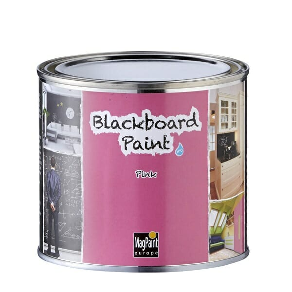 Schoolbordenverf Magpaint schoolbordverf roze pink in 500 ml