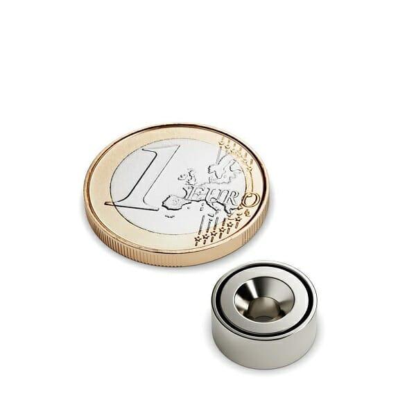 potmagneet neodymium 16mm