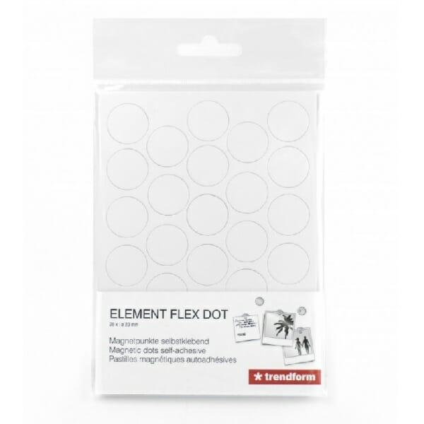 zelfklevend rondje voor magneten element flex dot