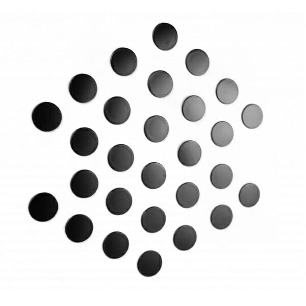 zelfklevend rondje voor magneten zwart ml3011