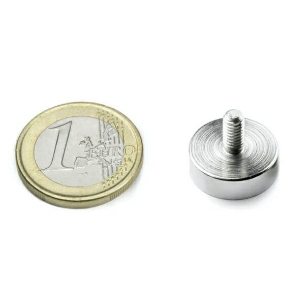 potmagneet draadstift 16 mm