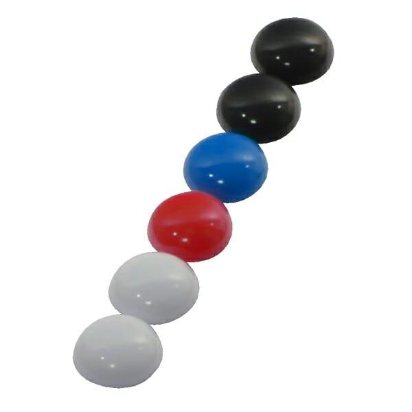magneten voor glasborden en whiteboarden zes stuks