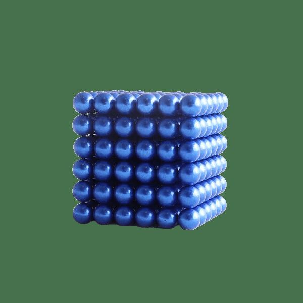 magneet balletjes kogelmagneet blauw 5mm