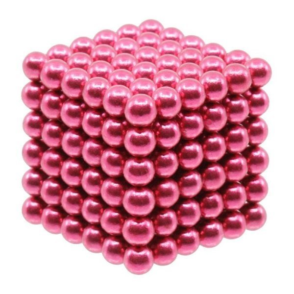 magneet balletjes kogelmagneet paars 5mm