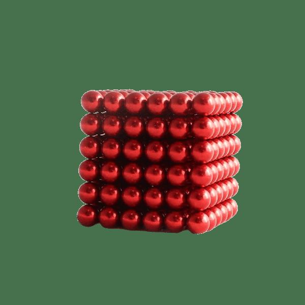 magneet balletjes kogelmagneet rood 5mm