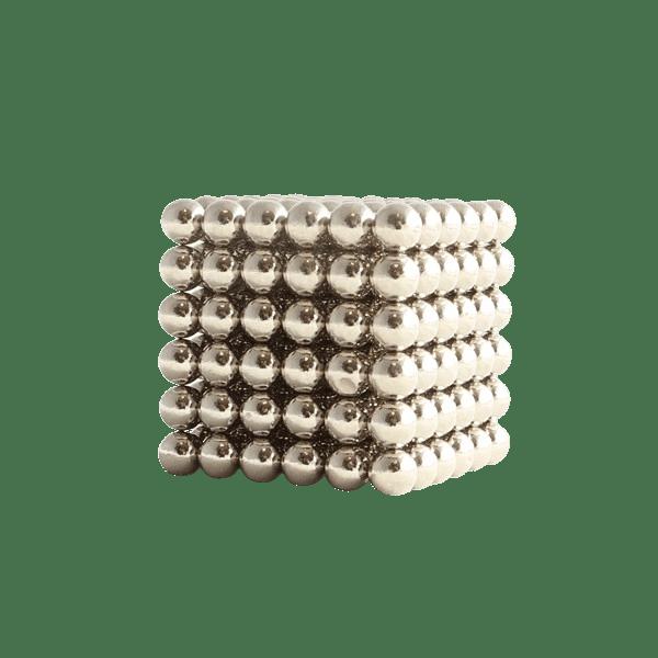 magneet balletjes kogelmagneet zilver 5mm