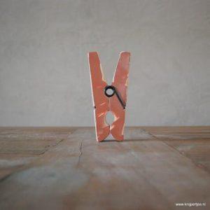 magneet knijper vintage bruin magneetjeswinkel ede