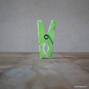 magneet knijper vintage groen magneetjeswinkel ede