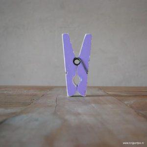 magneet knijper vintage paars magneetjeswinkel ede