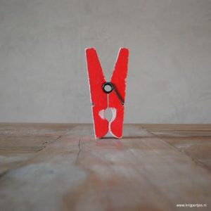 magneet knijper vintage rood magneetjeswinkel ede